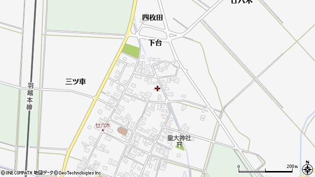 山形県東田川郡庄内町廿六木三ツ車97周辺の地図