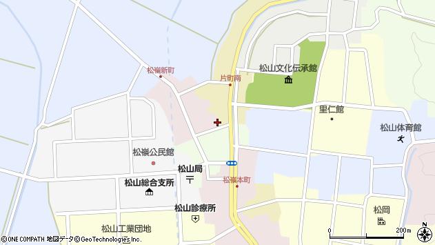 山形県酒田市新町1周辺の地図