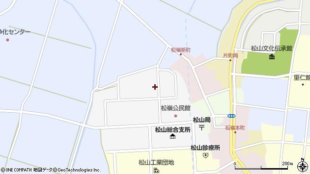 山形県酒田市山田9周辺の地図
