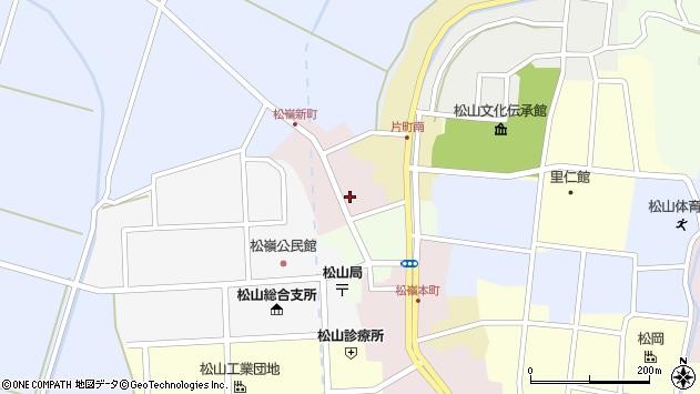山形県酒田市新町12周辺の地図