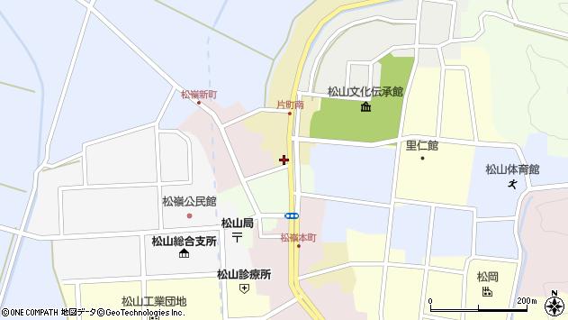 山形県酒田市片町10周辺の地図