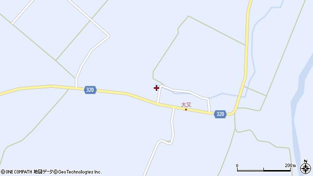 山形県最上郡金山町山崎三枝304周辺の地図
