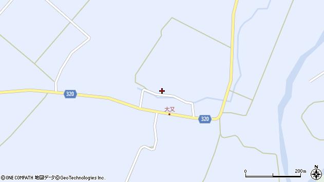 山形県最上郡金山町山崎三枝251周辺の地図