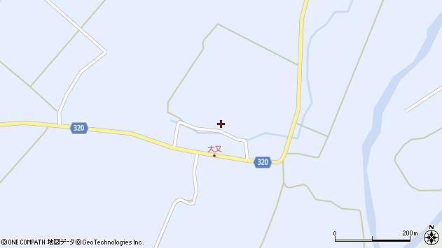 山形県最上郡金山町山崎三枝249周辺の地図