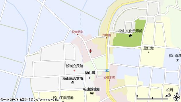 山形県酒田市新町14周辺の地図