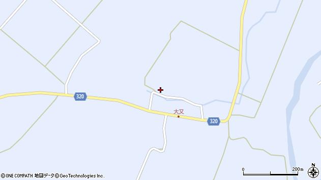 山形県最上郡金山町山崎三枝253周辺の地図