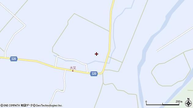 山形県最上郡金山町山崎三枝212周辺の地図