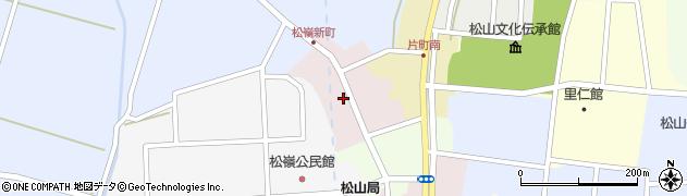 山形県酒田市新町41周辺の地図