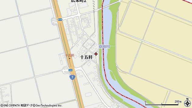 山形県酒田市広野十五軒66周辺の地図