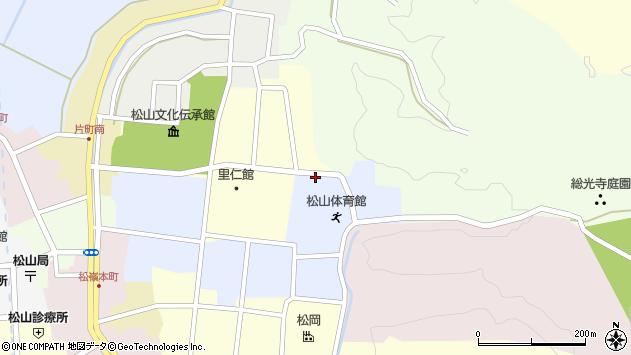 山形県酒田市内町13周辺の地図