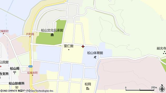 山形県酒田市新屋敷15周辺の地図