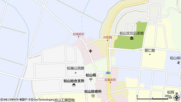 山形県酒田市新町16周辺の地図