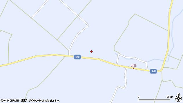 山形県最上郡金山町山崎三枝320周辺の地図