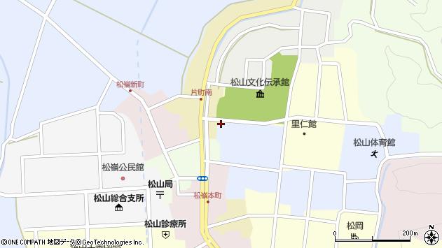 山形県酒田市片町7周辺の地図
