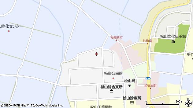 山形県酒田市山田2周辺の地図