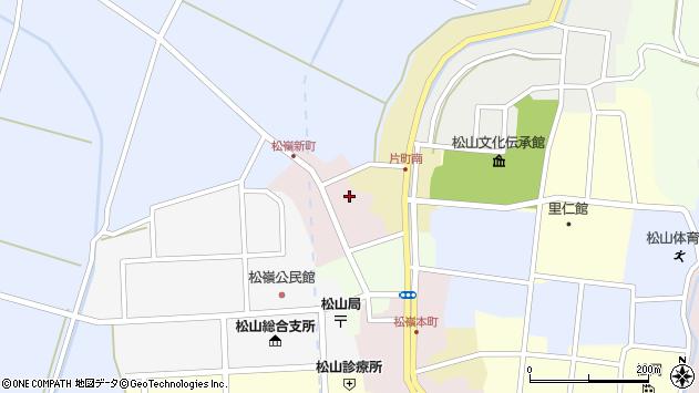 山形県酒田市新町18周辺の地図