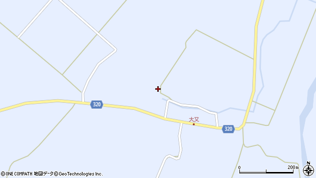 山形県最上郡金山町山崎三枝639周辺の地図
