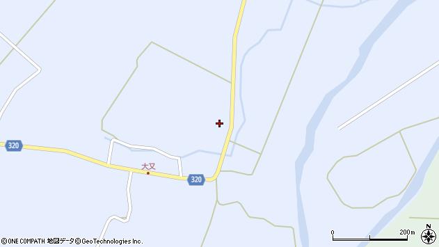 山形県最上郡金山町山崎三枝1329周辺の地図
