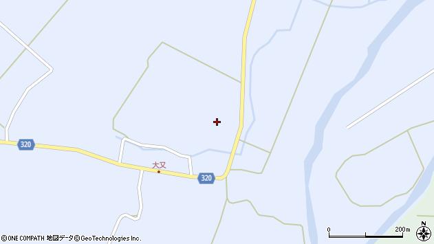 山形県最上郡金山町山崎三枝210周辺の地図