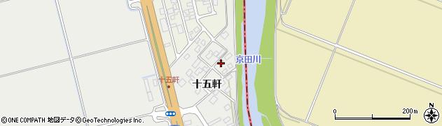 山形県酒田市広野十五軒69周辺の地図