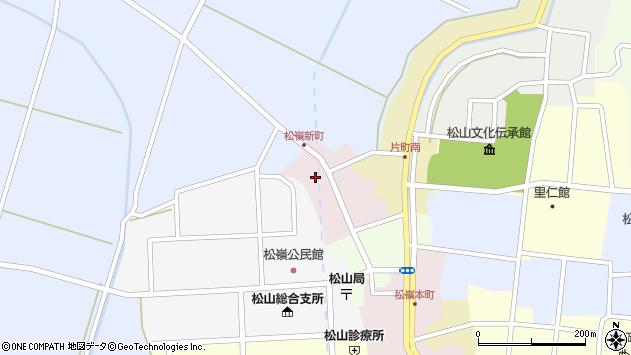 山形県酒田市新町35周辺の地図