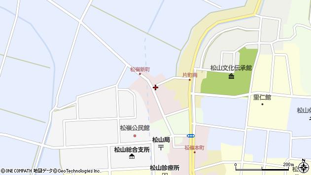 山形県酒田市新町22周辺の地図