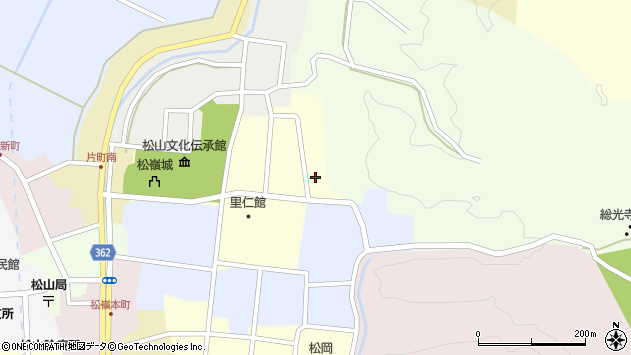 山形県酒田市新屋敷2周辺の地図