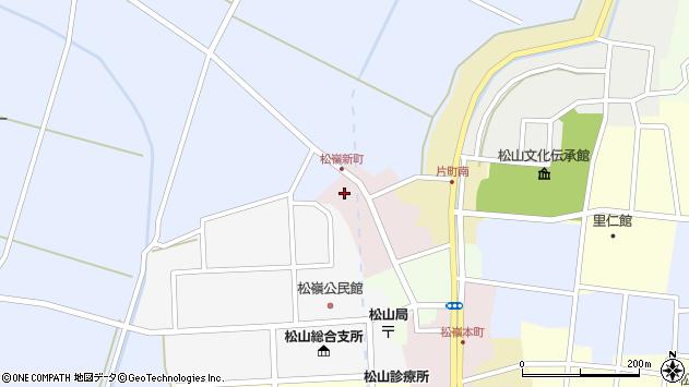 山形県酒田市新町32周辺の地図