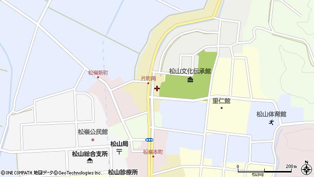 山形県酒田市片町4周辺の地図