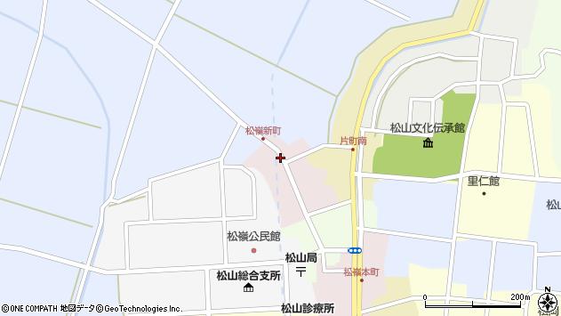 山形県酒田市新町34周辺の地図