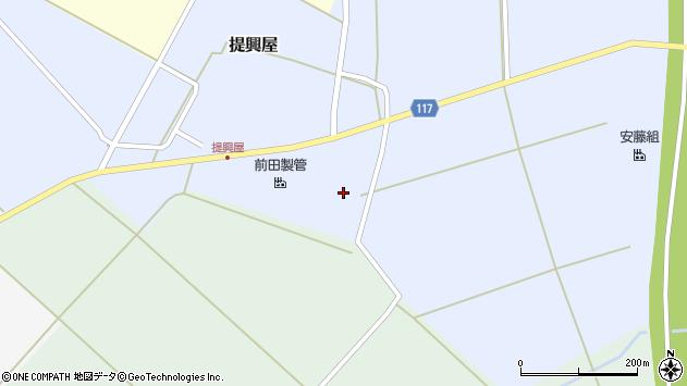 山形県東田川郡庄内町提興屋下田50周辺の地図