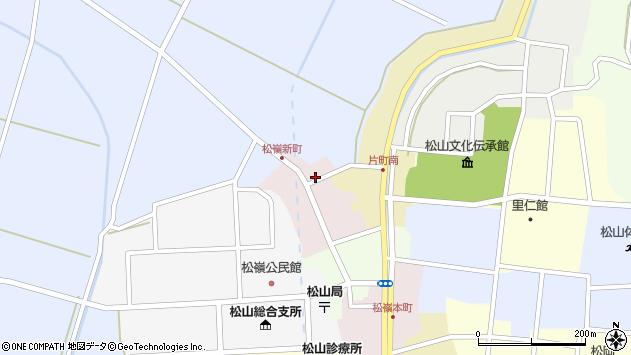 山形県酒田市新町24周辺の地図