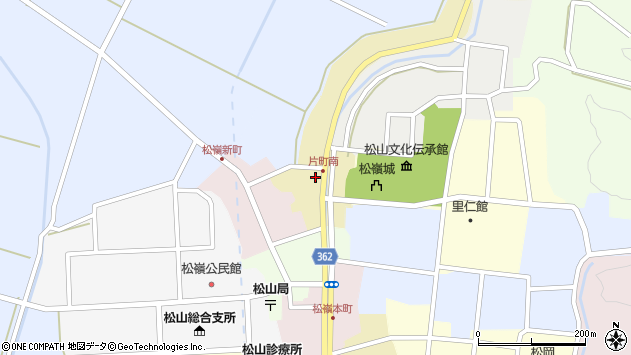山形県酒田市片町20周辺の地図