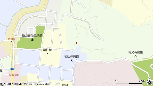 山形県酒田市総光寺沢12周辺の地図