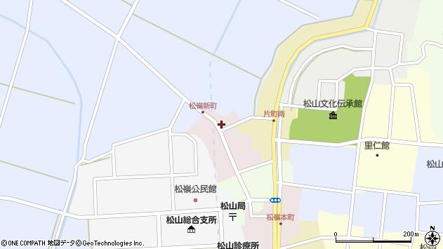 山形県酒田市新町25周辺の地図