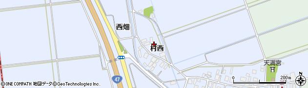 山形県東田川郡庄内町跡村西24周辺の地図