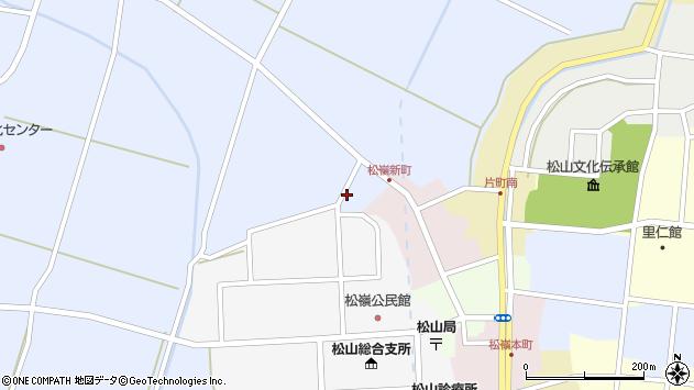 山形県酒田市竹田清水下15周辺の地図