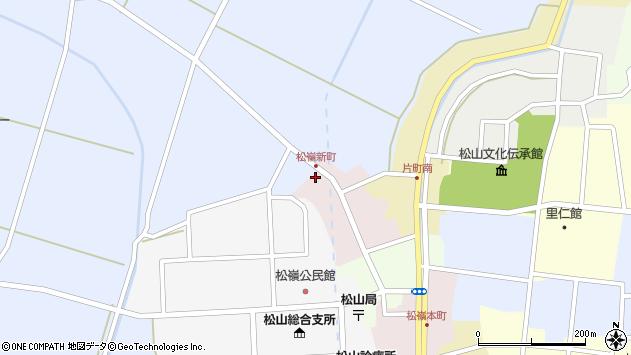 山形県酒田市新町30周辺の地図