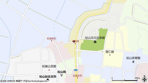 山形県酒田市片町23周辺の地図