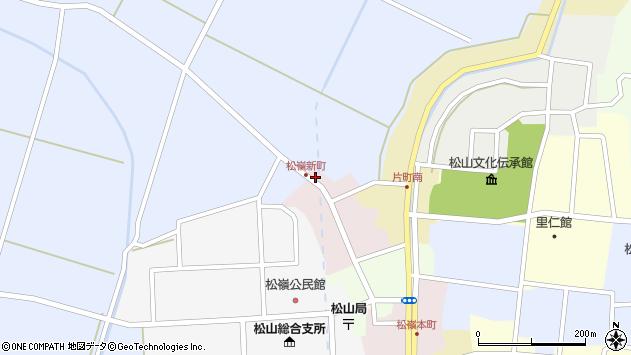 山形県酒田市新町29周辺の地図