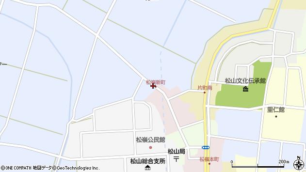 山形県酒田市竹田清水下3周辺の地図