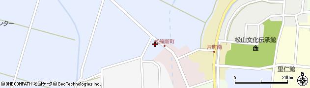 山形県酒田市竹田清水下4周辺の地図