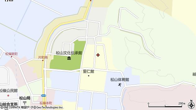 山形県酒田市新屋敷21周辺の地図