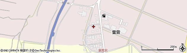 山形県酒田市坂野辺新田葉萱222周辺の地図