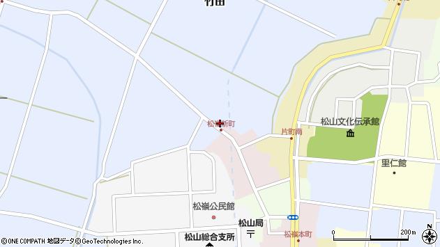 山形県酒田市竹田猿田3周辺の地図