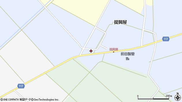 山形県東田川郡庄内町提興屋野岡1周辺の地図