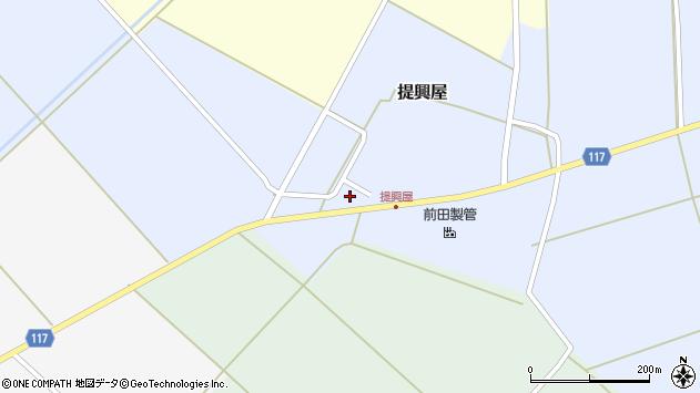 山形県東田川郡庄内町提興屋野岡4周辺の地図