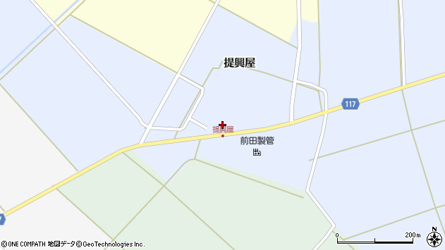 山形県東田川郡庄内町提興屋野岡32周辺の地図