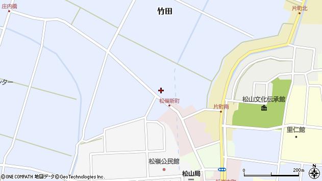 山形県酒田市竹田猿田4周辺の地図