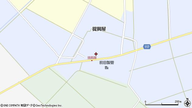 山形県東田川郡庄内町提興屋野岡30周辺の地図